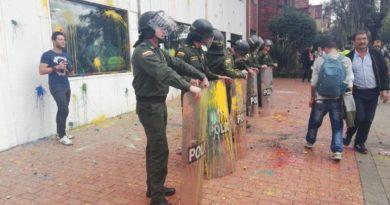 Protesta RCN,