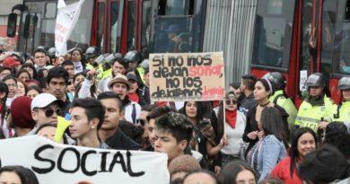 Protestas Bogotá, Vándalos, El Sia Radio