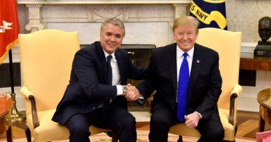 Trump, Duque, Casa Blanca, EEUU, El Sia Radio