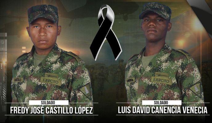 Soldados, Muertos, Asesinados