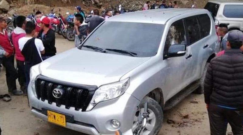 Cinco indígenas asesinados, Cauca,