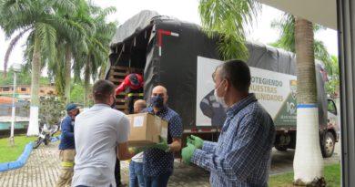 Entrega De Insumos En Antioquia Y Caldas