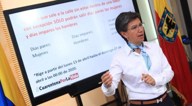 Cuarentena con Pico y Género en Bogotá