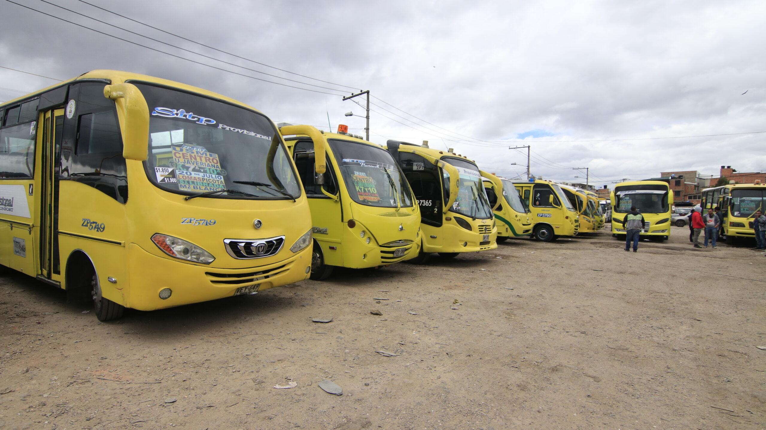 Segunda Jornada de Higienización Gratuita a Vehículos de Transporte Público en Bogotá