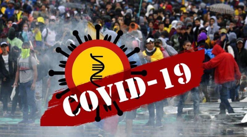 Un vaivén, los contagios en Colombia