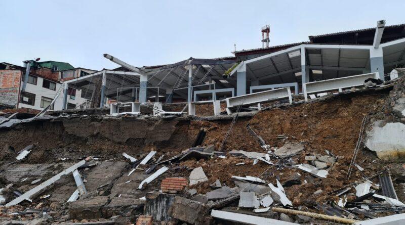 Administración de frente a emergencia presentada en Ubalá