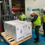Llegaron a Colombia 339.300 dosis de Pfizer
