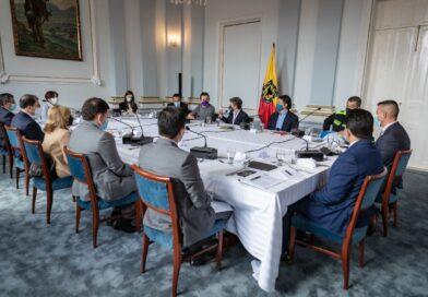 Reunidos en pro del proyecto de Ley de Seguridad Ciudadana